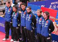 Die Mannschaft des TTC indeland Jülich