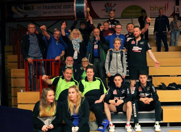Fans mit Team