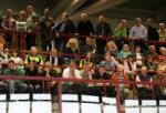 Fans auf der Trib�ne